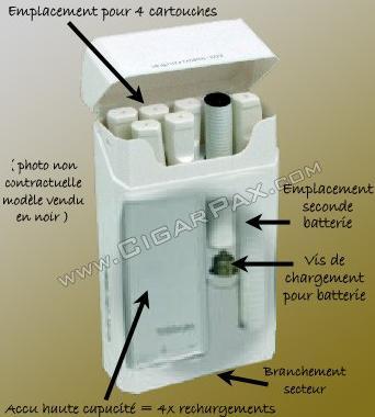 PCC pour cigarette electronique J118
